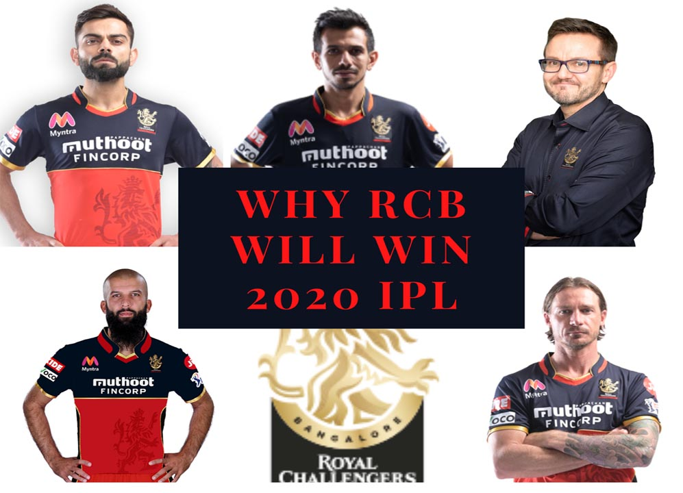 Why Royal Challengers Bangalore will Win 2020 IPL