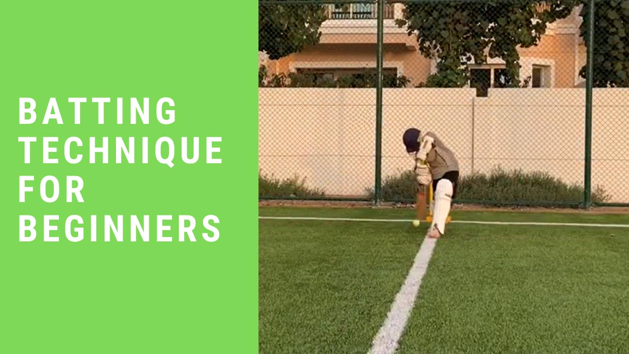 Cricket Batting Technique for Beginners – Using Bobble Feed